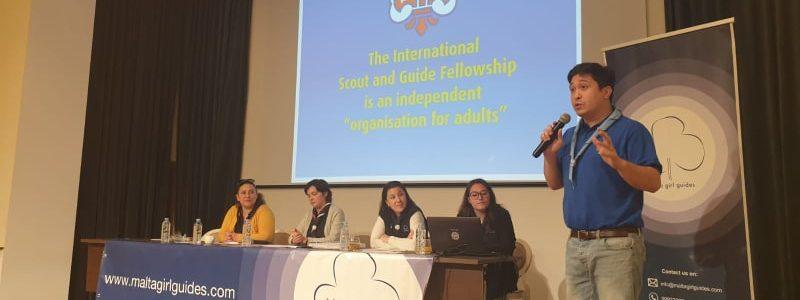Visita a Malta : Presentación de la Conferencia Mundial 2020 y participación en la Recepción de la Fundación Scout Europea.