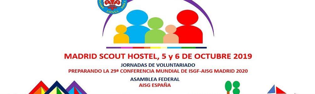 Jornadas de Voluntariado y Asamblea Federal octubre 2019